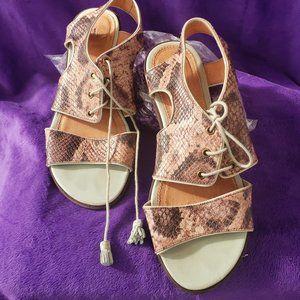 Anthropologie  schuler & sons philadelphia sandals